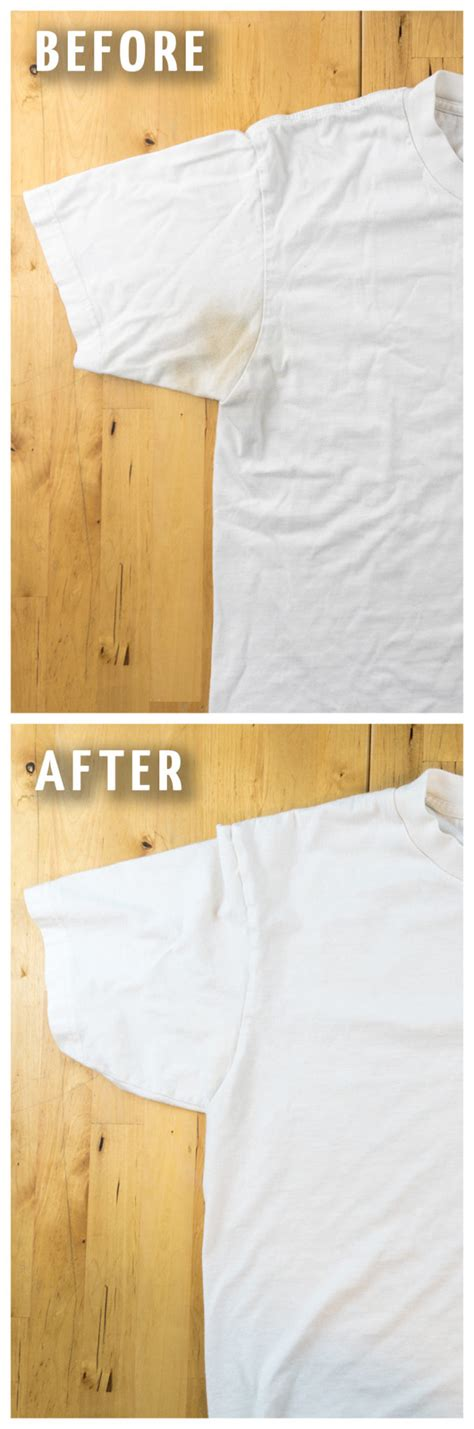 cleaning yellow stains on an how to remove yellow sweat stains from your clothes the