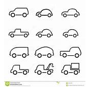Car Icon Stock Vector Image Of Illustration Cars Tine