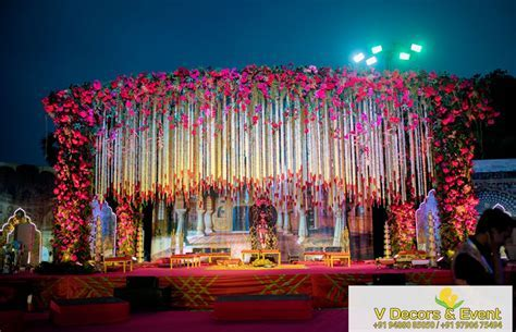 Outdoor Stage Decoration   Ceremony in 2019   Wedding