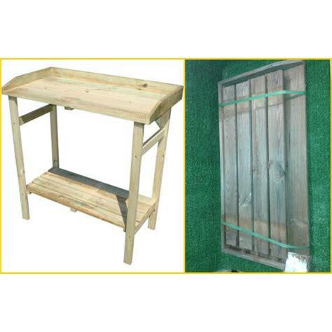 tavolo lavoro fai da te banco lavoro in legno eco 80x40x85 banchetto tavolo