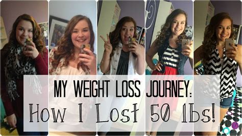 weight loss 50 lbs how i lost 50 lbs my weight loss transformation