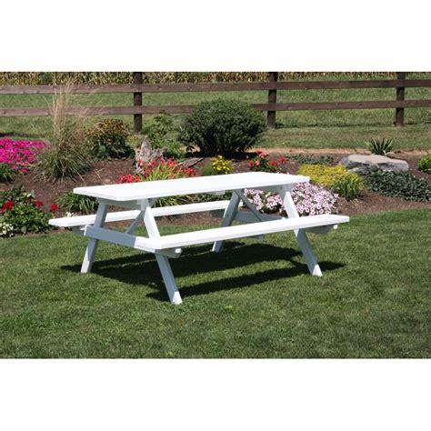 pine picnic bench pine 8 picnic table a l
