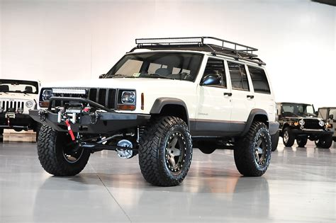jeep xj lifted davis autosports jeep cherokee xj sport lifted stage 3