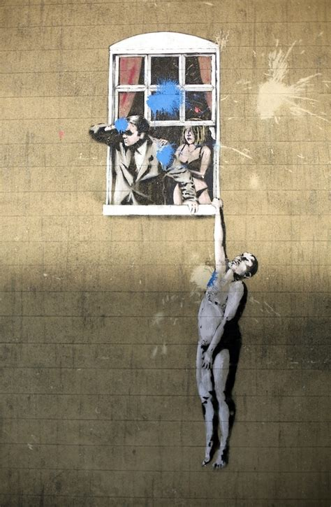 banksy painting facts 10 banksy facts did you know art pie