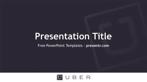 free uber business card templates free uber powerpoint template prezentr ppt templates