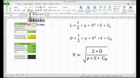 tutorial en excel tutorial de programacion de ecuaciones en excel espa 241 ol