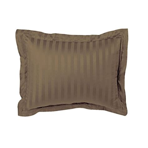 Standard Pillow Sham Pattern by Luxury Pillow Sham 100 Cotton 500 Thread Count