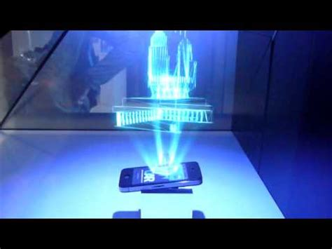 3d Holographic Image Projector