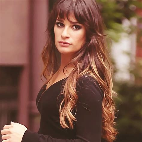 which hair colour does lea michele wear for loreal