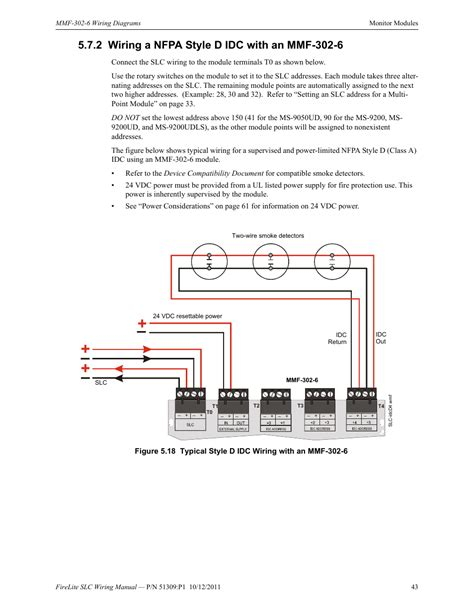 2 wiring a nfpa style d idc with an mmf 302 6 wiring a