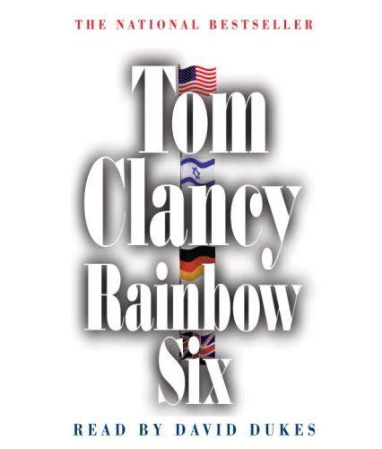 six four a novel books tom clancy rainbow six julius bl s books