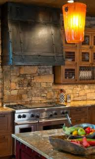 rustic kitchen backsplash tile 22 stunning stone kitchen ideas bring natural feel into modern homes amazing diy interior