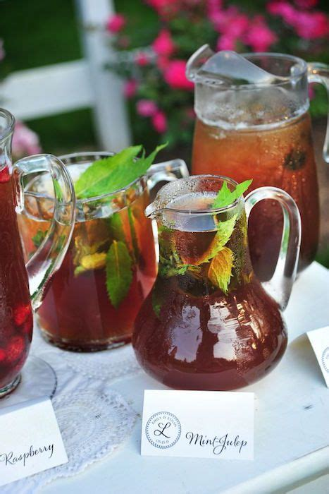 10 ways use tea in your wedding warm outdoor and
