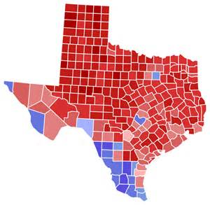 Voting Tx File Governor Election Results By County 2014 Svg