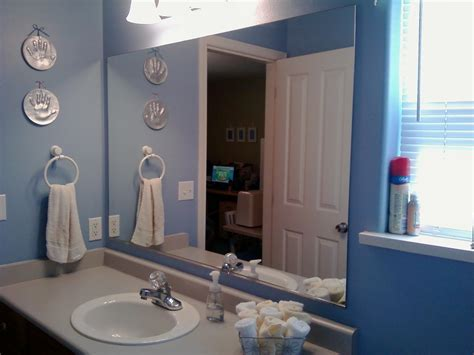 bathroom mirror images this thrifty house framed bathroom mirror