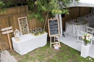 Small Backyard Wedding Ideas Summer Backyard Wedding It Our Wedding Small Backyard Weddings Backyard