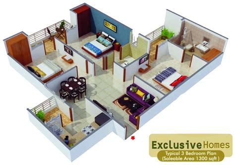 1300 Square Foot House by The Essentia Bhiwadi Rajasthan India 1 Amp 2 Bhk
