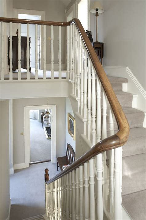 staircases banisters and carpets on