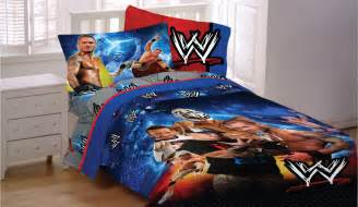 Wwe Comforter Set Twin Wrestling Champions Full Bed Sheet Set 4pc Wwe John Cena