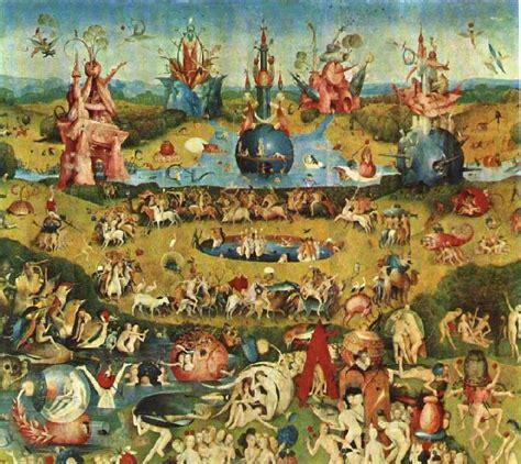 il giardino delle delizie di bosch otherworlds painting of the day il giardino delle