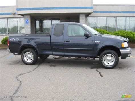 2000 Ford F150 by 2000 Wedgewood Blue Metallic Ford F150 Xlt Extended