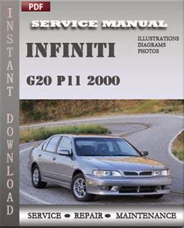 2000 infiniti g20 service repair manual set ebay infiniti g20 p11 2000 service repair manual repair service manual pdf