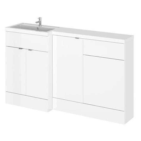 1500mm Combination Fitted Bathroom Furniture Set Color Combination Bathroom Furniture