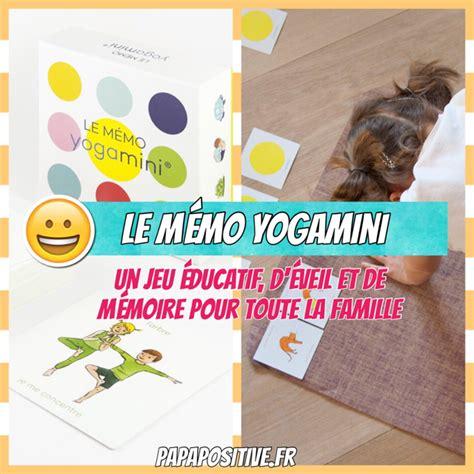 2955828106 le memo yogamini le yoga le m 233 mo yogamini un jeu 233 ducatif d 233 veil et de m 233 moire