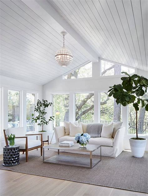 Shiplap On The Ceiling 25 Best Ideas About Sunrooms On Sunroom Ideas
