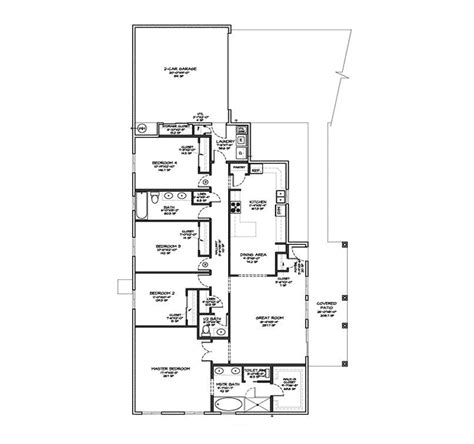 adobe home plans alamogordo adobe style home plan 131d 0007 house plans
