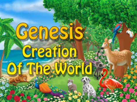 the genesis creation story genesis creation of the world tabtale