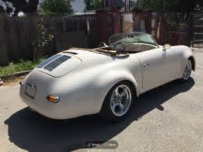 1955 Porsche Speedster Replica For Sale 1955 Porsche Speedster Custom Replica For Sale Photos