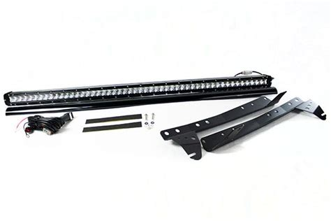 led light bar kit proz stealth led light bar kit 25 000 lumen free shipping