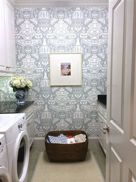 laundry room wallpaper 25 best ideas about laundry room wallpaper on laundry decor laundry room and