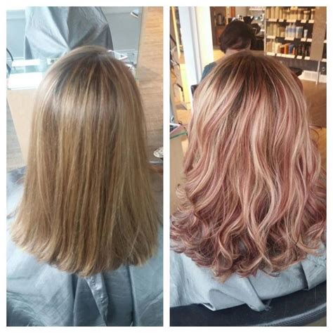 rose gold lowlights on dark hair the 25 best lowlights for blonde hair ideas on pinterest