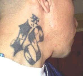 neck tattoo history the history of gangs in mexico part 1 boufosnews