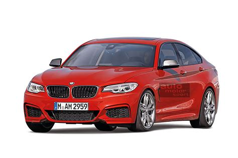 bmw 2 series gran coupe rendered again