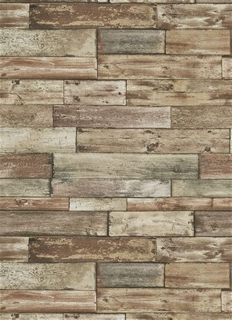rustic look wood panel reclaimeb wood strips 14 best images about wallpaper on pinterest rustic wood