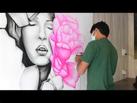 Realistic Wall Murals air brush wall art by shiva ranjan youtube