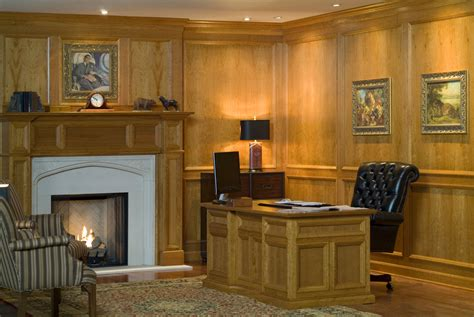 traditional raised molding paneling  design  space