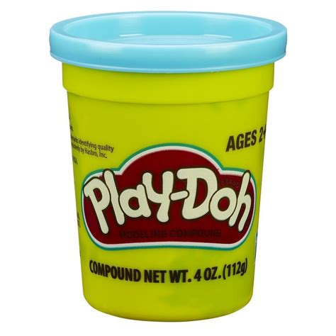 play doh play doh single can bright blue mighty utan malaysia