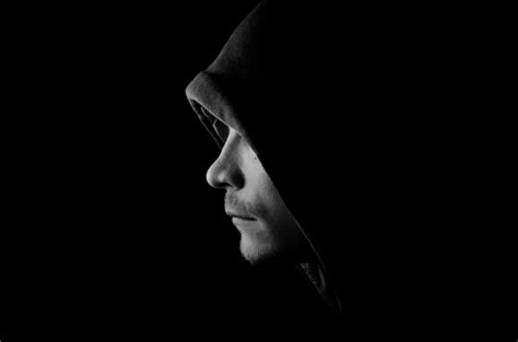 man in the dark portrait of the dark side s man free stock photo public domain pictures