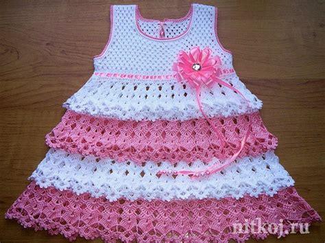 tejidos elegantes de crochet como hacer un vestido tejido a crochet para ni 241 as