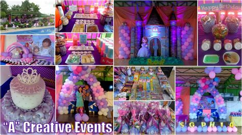 themes kiddie party full kiddie party packages according to theme athena miel