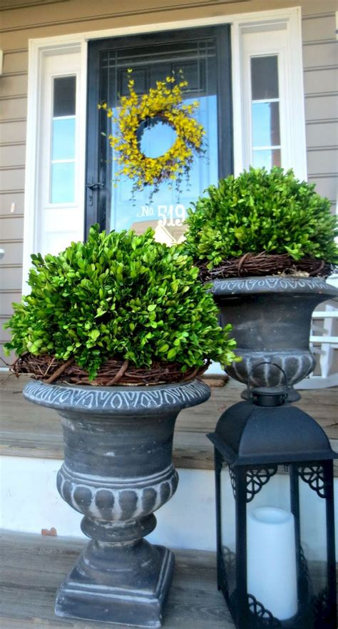 Front Porch Planter Ideas 50 Incredible Home Front Porch Flower Planter Ideas Freshouz