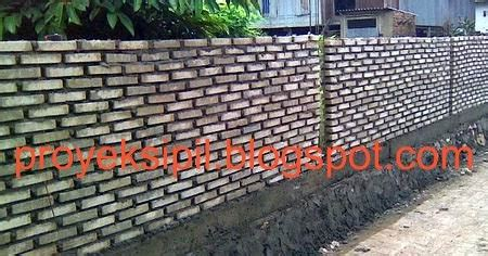 Software Bangunan Bata Batu Amquake V3 cara dan teknis memasang batu bata untuk dinding rumah proyek sipil
