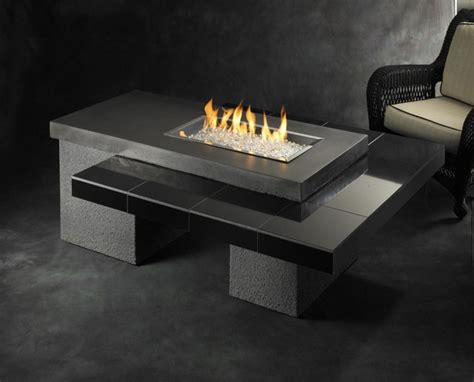 contemporary firepits uptown gas pit table contemporary pits