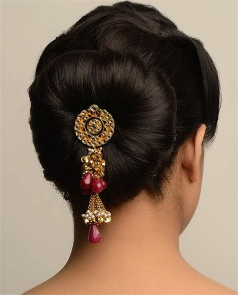 hairstyles for buns indian bun hairstyles for saree trendy styles bhommali