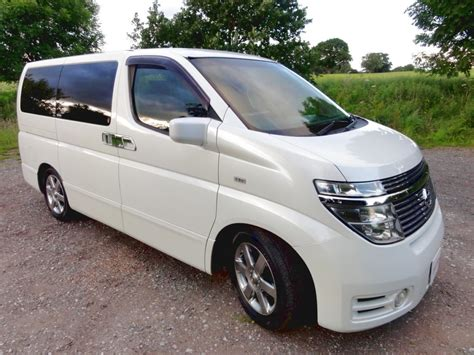 nissan elgrand 3 5 4wd andrew s japanese cars