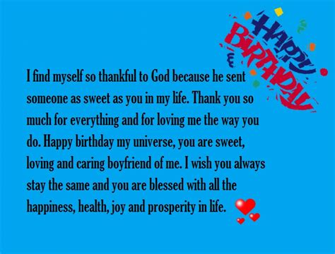 romantic birthday paragraphs for your boyfriend happy